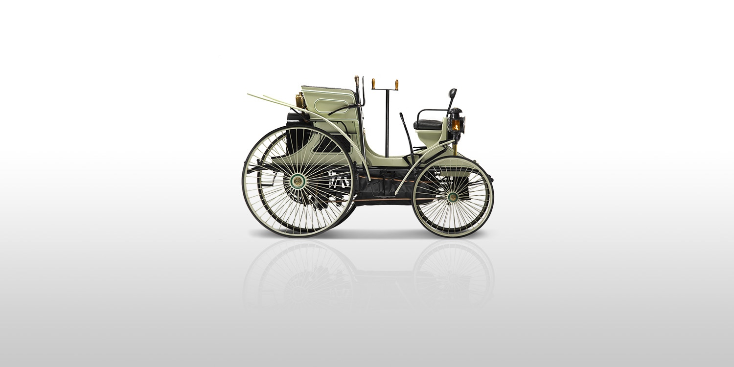 History - 1890 - Birth of the automobile