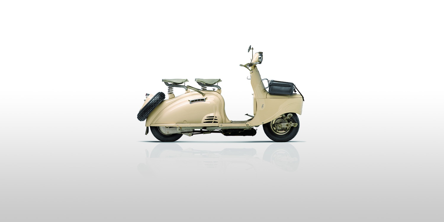 History - 1955 -  Scooter S55