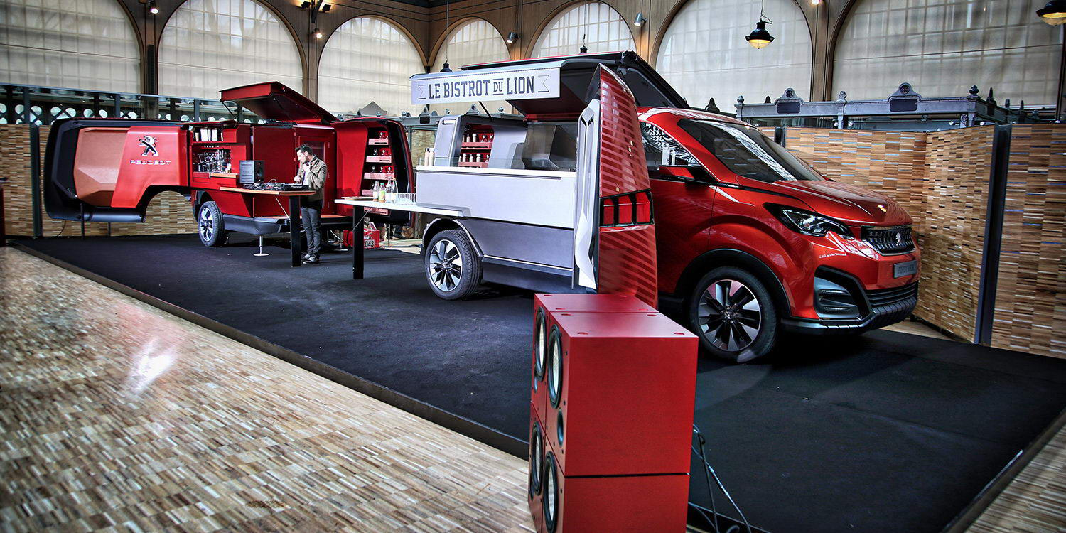 News -   PEUGEOT FOODTRUCK WORLD PREMIERE