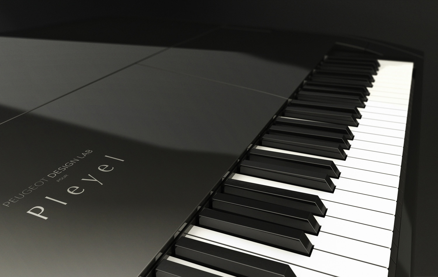 Product Design - Peugeot Design Lab piano for Pleyel