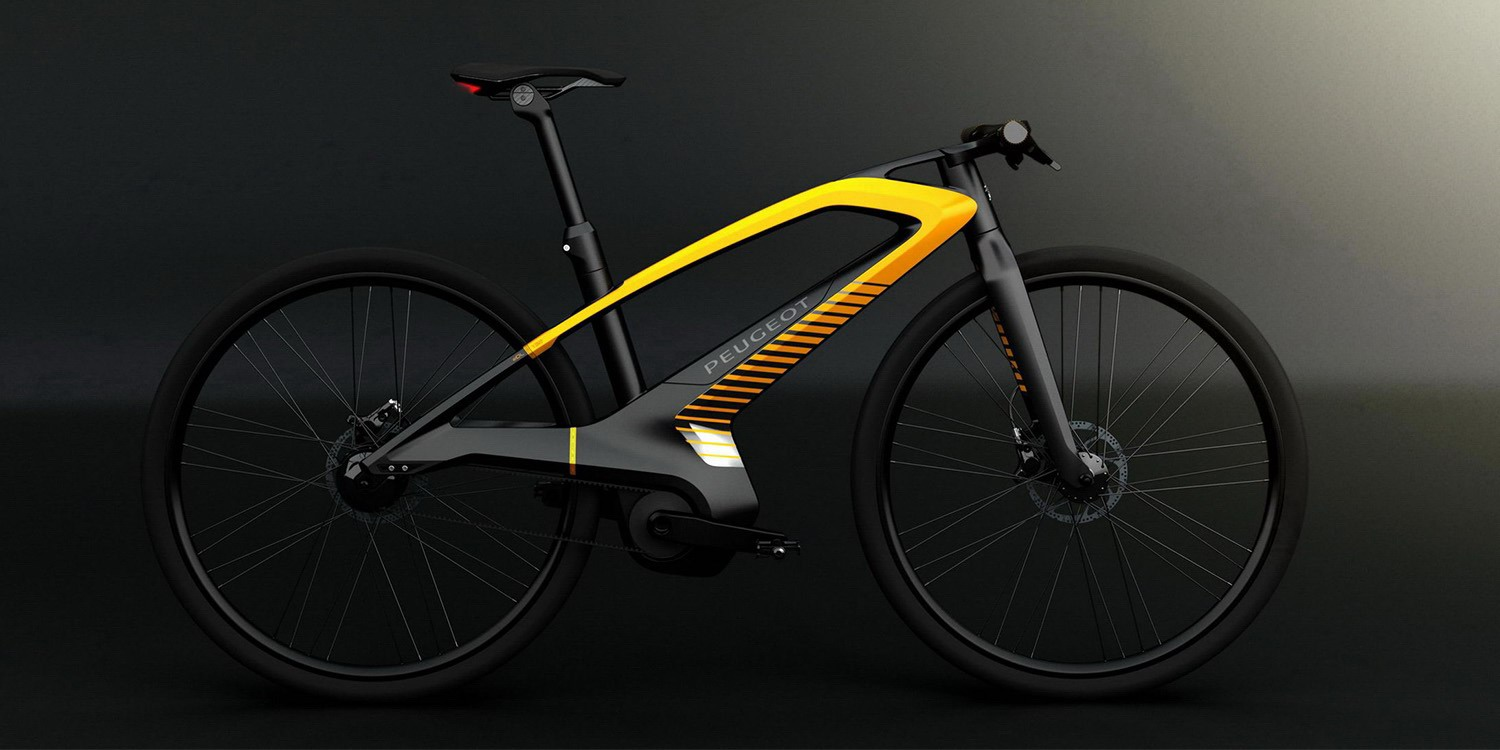 peugeot cycles edl132 concept e bike transportation peugeot design lab. Black Bedroom Furniture Sets. Home Design Ideas