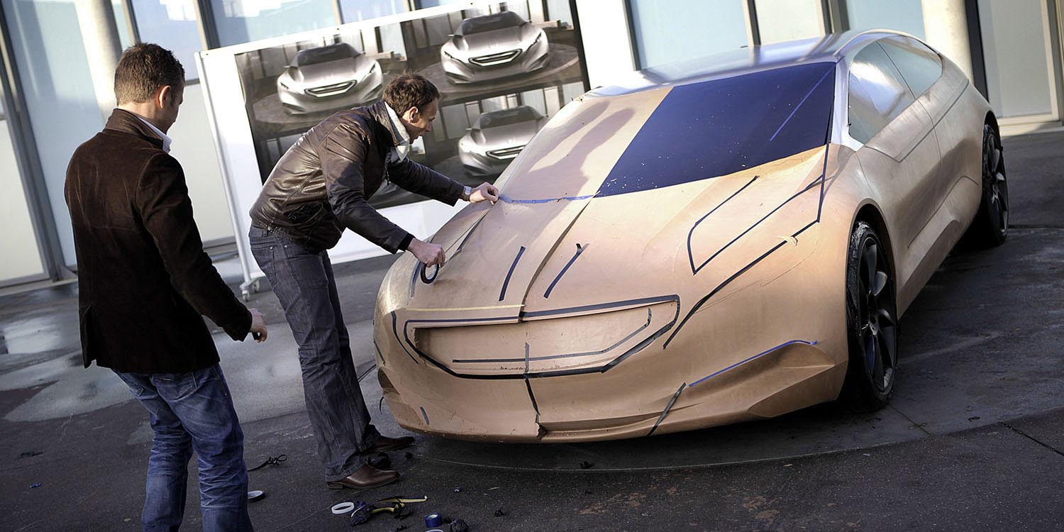 Concept Cars - Making of - Peugeot  HX1