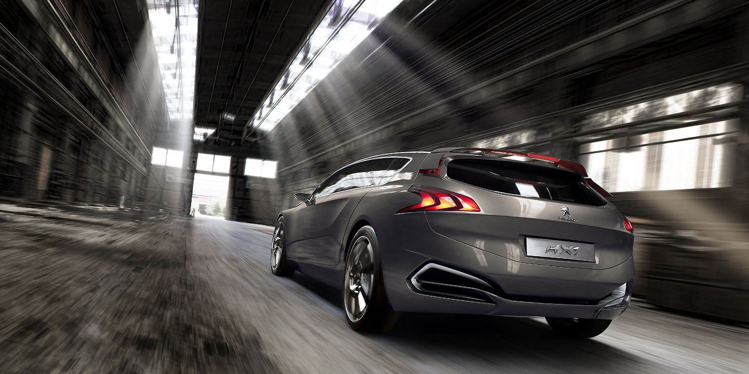Concept Cars - Photos - Peugeot  HX1