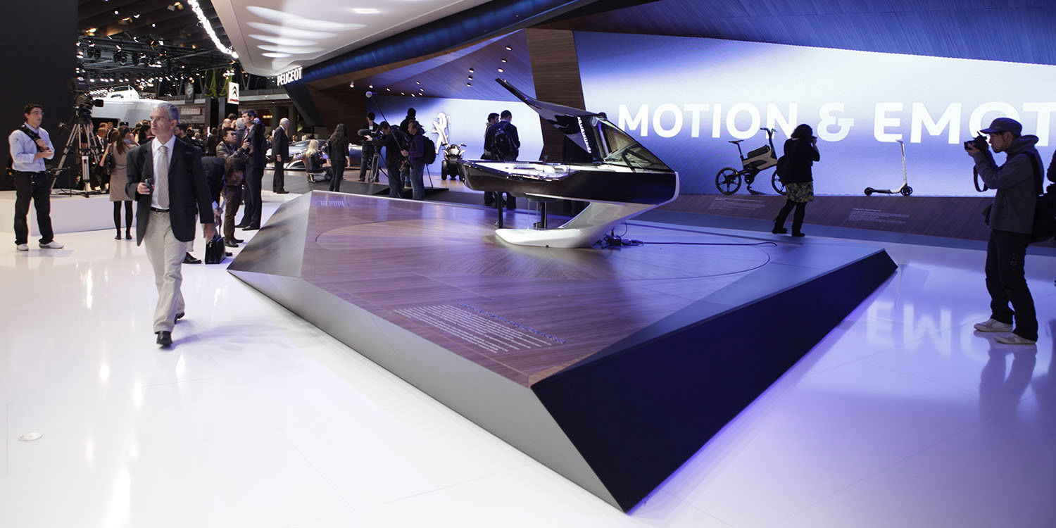 Paris motor show 2012 news peugeot design lab for Expo design paris