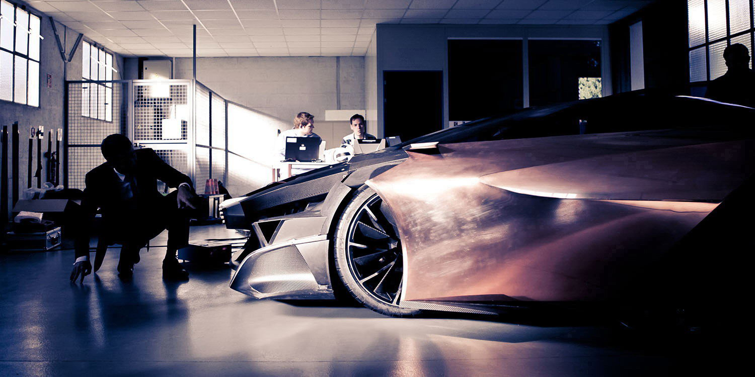 Concept Cars - MAKING OF - Peugeot Onyx