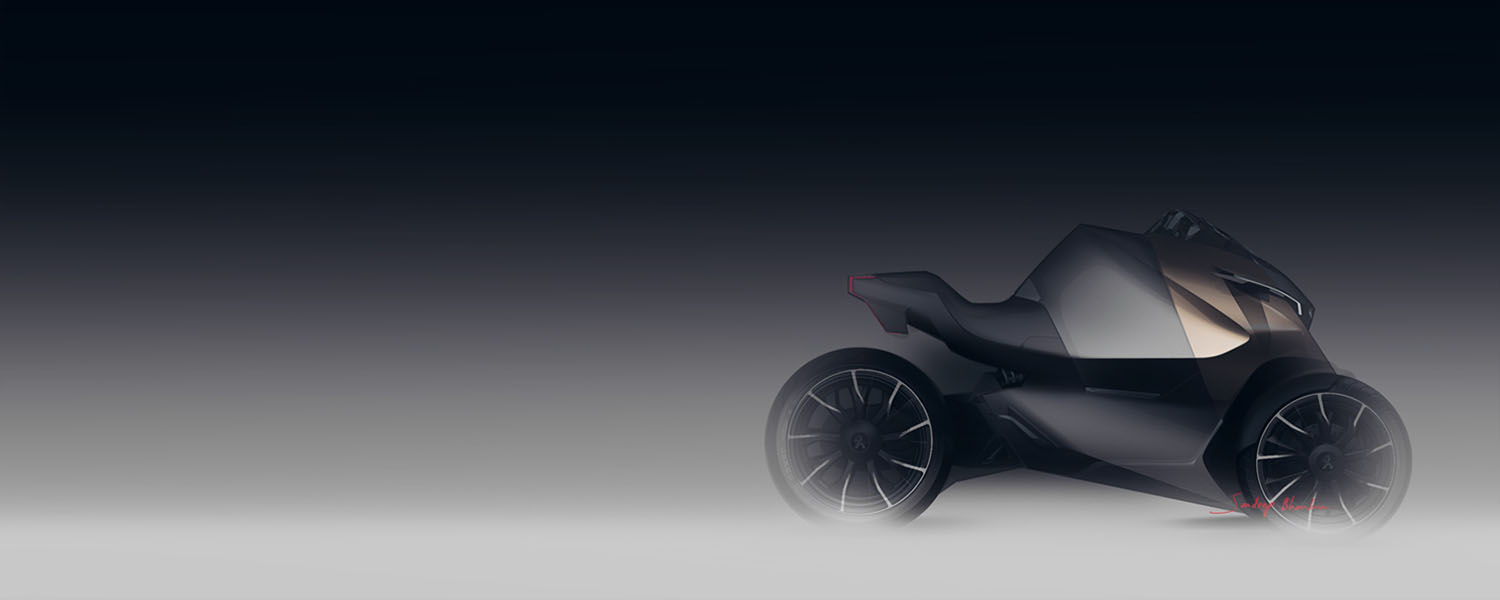 Onyx Projects - Designer - Peugeot ONYX Supertrike Concept