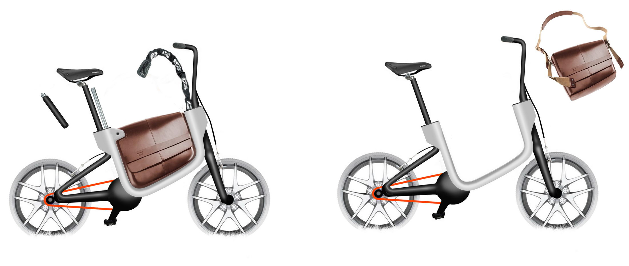 Transportation - Sketches - Peugeot Cycles AE21