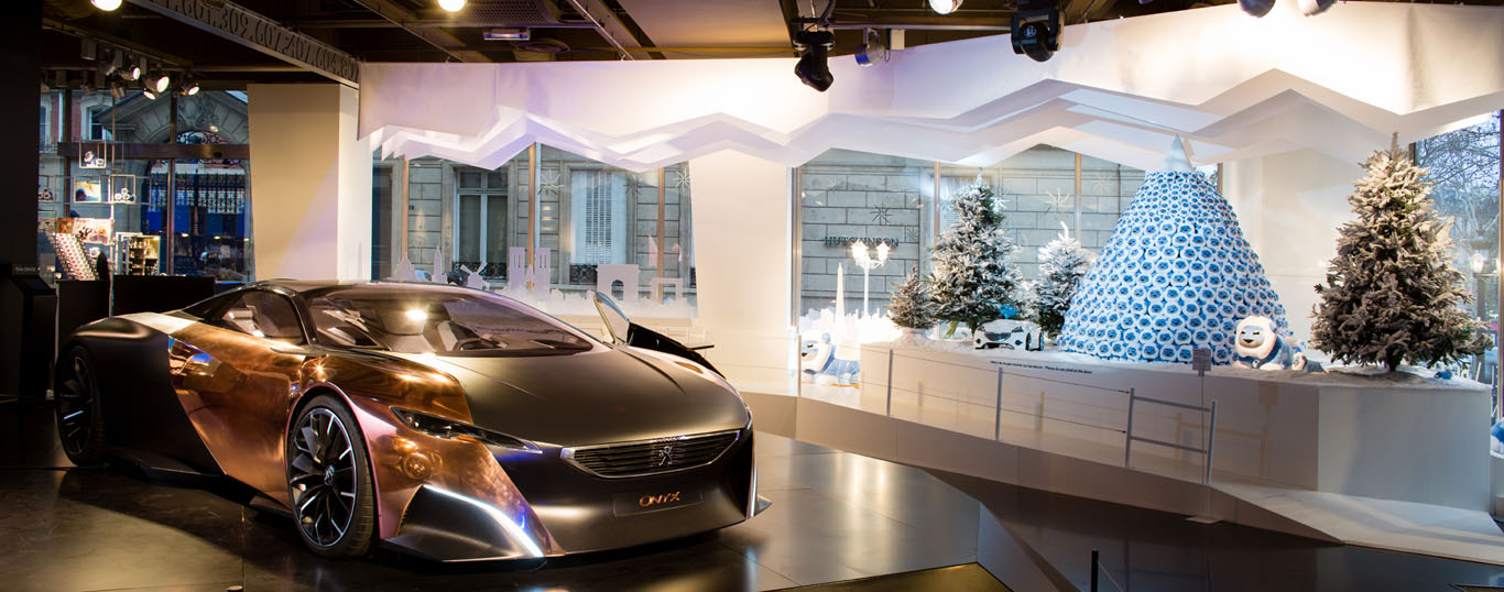 News - PHOTOS - Noël au Peugeot Avenue