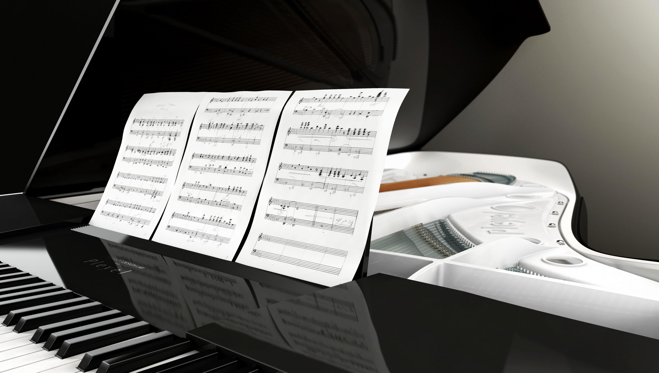 Product Design - Photo - Peugeot Design Lab piano for Pleyel