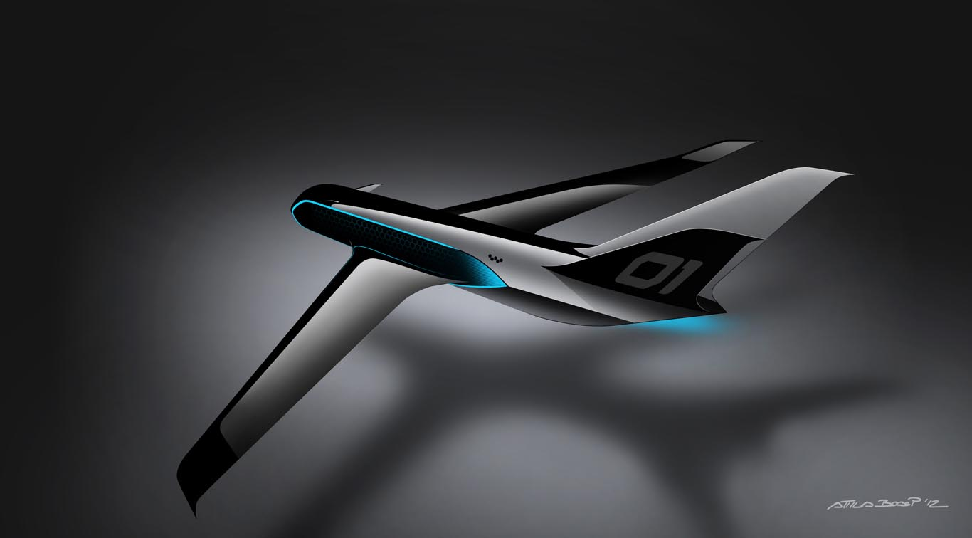 Transport - Sketches - Peugeot Design Lab HX1 Jet Concept