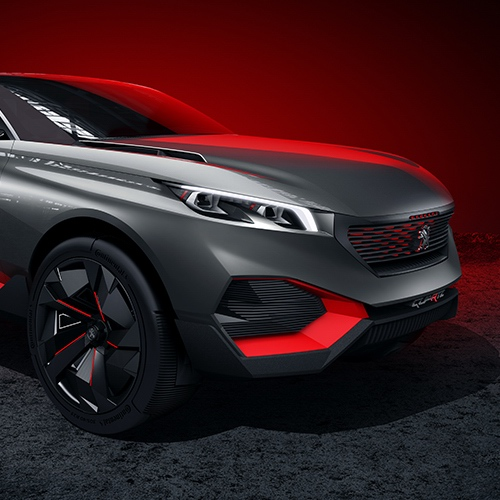 Peugeot Concept cars : automotive concept design