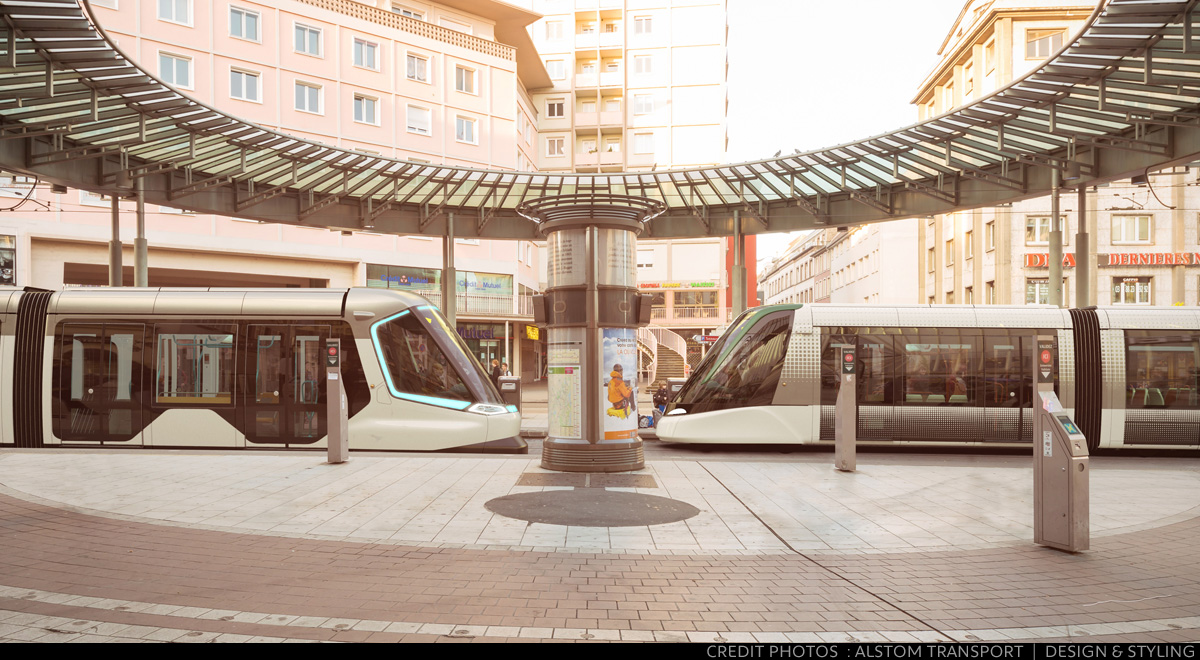 Transportation - Photos - Alstom Strasbourg Tram