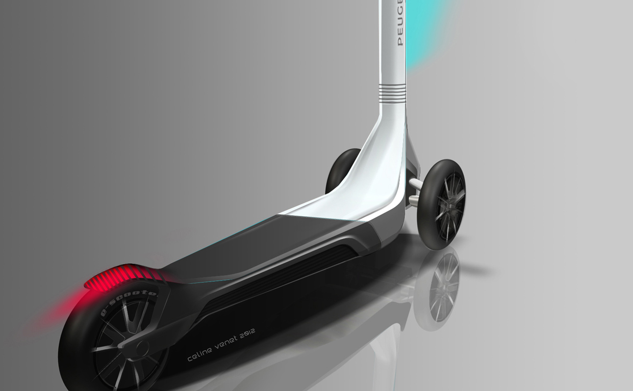 Transportation - MAKING OF - Peugeot Electric Scooter Concept