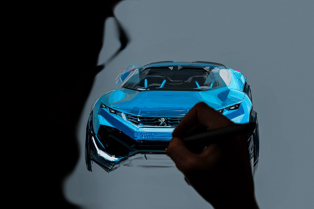 - making of - Peugeot Quartz