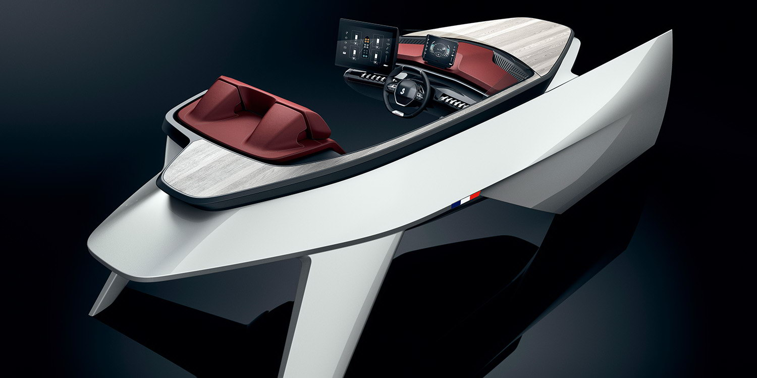 Transport - PHOTOS - Peugeot Beneteau Sea Drive Concept