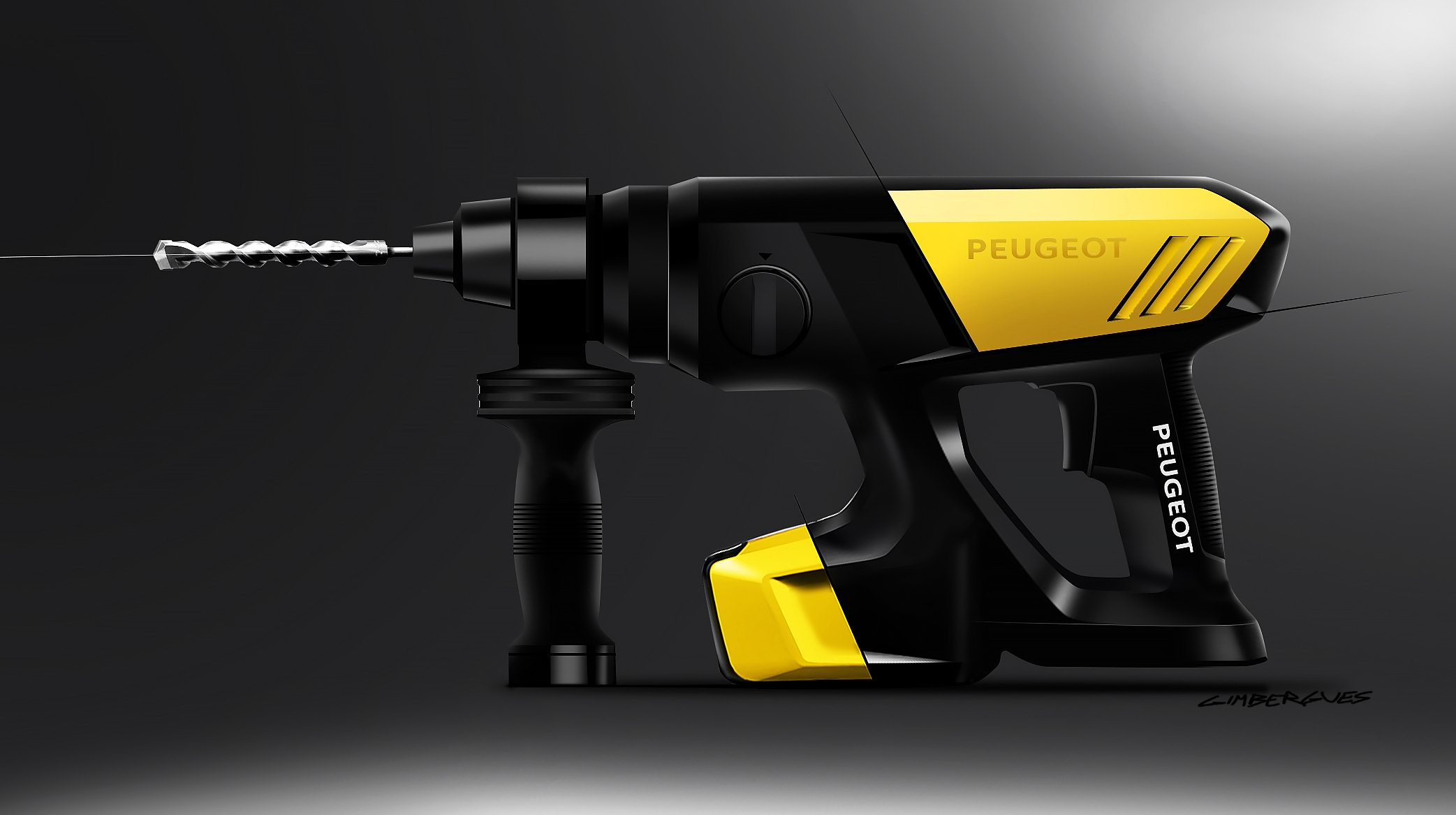 Product Design - SKETCHES - PEUGEOT POWERTOOLS