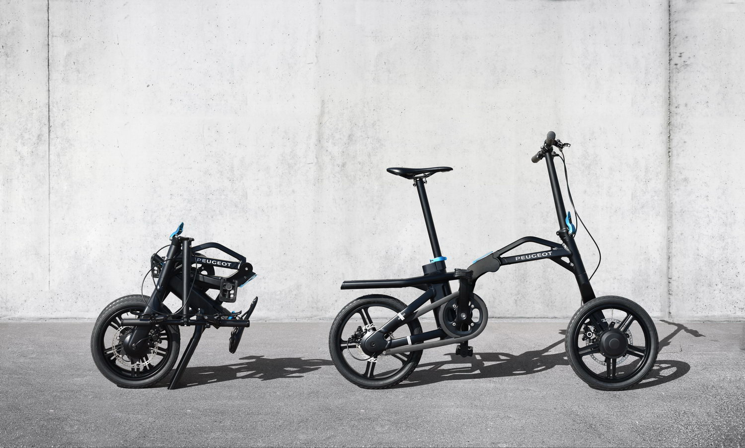 Transportation - VIDEOS - Peugeot eF01 e-Bike