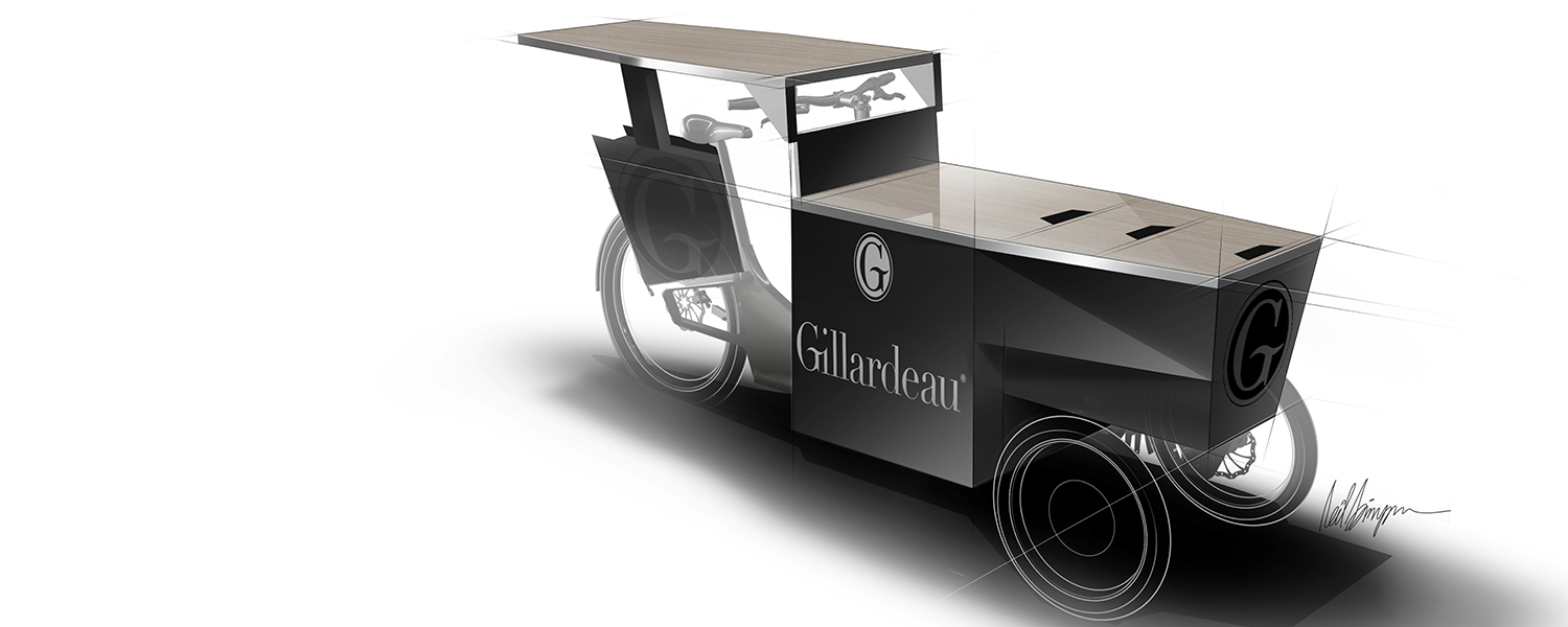 Transport - DESIGNER - Gillardeau food bike