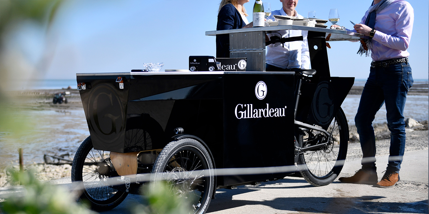 Transportation - Gillardeau food bike